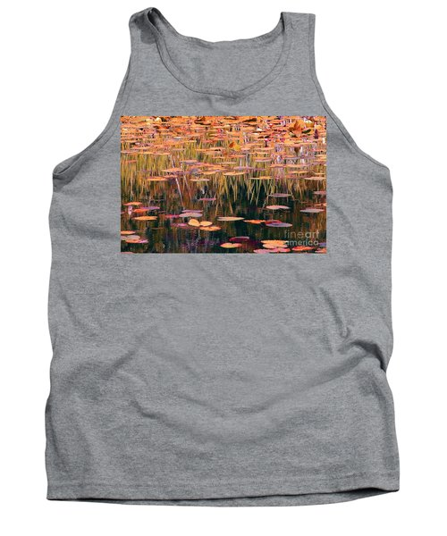 Water Lilies Re Do Tank Top by Chris Anderson