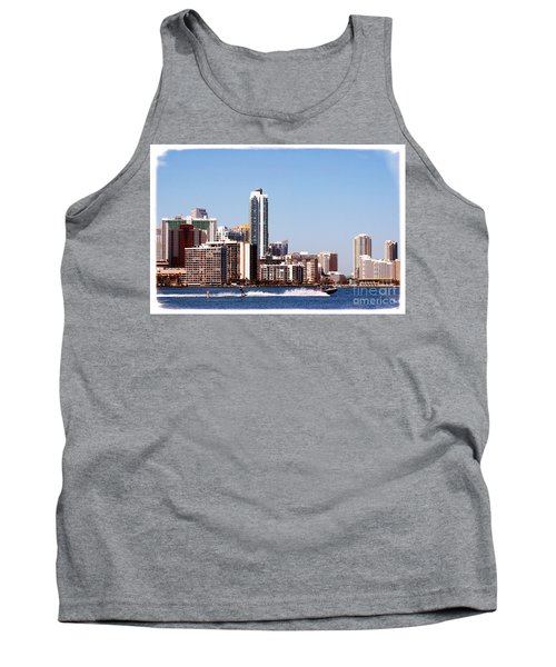 Tank Top featuring the photograph Water Skiing by Carsten Reisinger