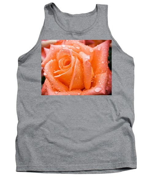 Watered Rose Tank Top