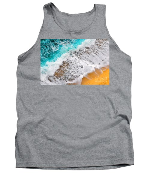 Waves Abstract Tank Top