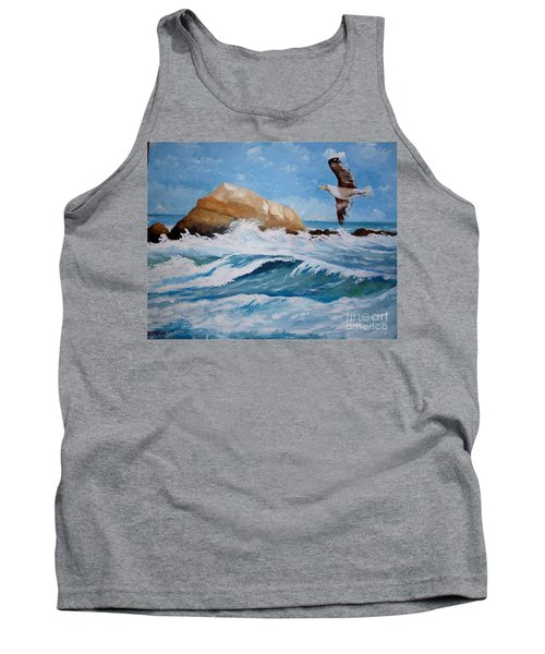 Waves Of The Sea Tank Top