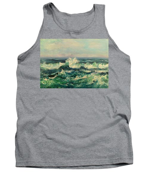 Waves Painting Tank Top