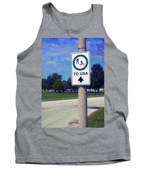 Way To The Usa Tank Top