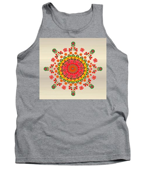 Wayuu Art Happiness Tank Top by Gabriela Delgado