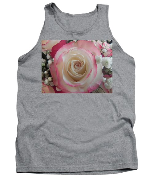 Tank Top featuring the photograph Wedding Bouquet by Deb Halloran