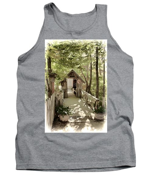 Welcome Tank Top by Fred Larson