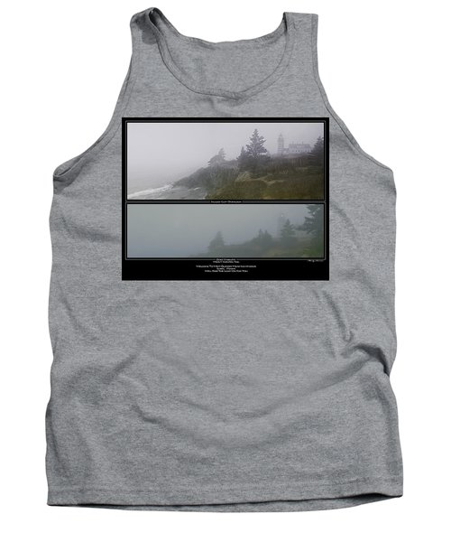 Tank Top featuring the photograph We'll Keep The Light On For You by Marty Saccone