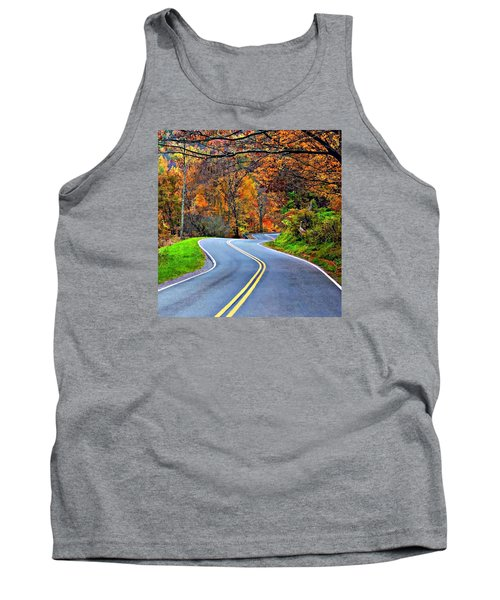 West Virginia Curves 2 Tank Top