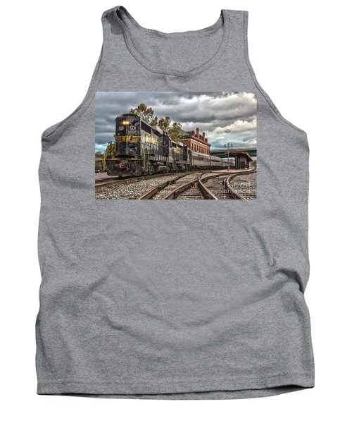 Western Maryland Scenic Railroad Tank Top by Jeannette Hunt