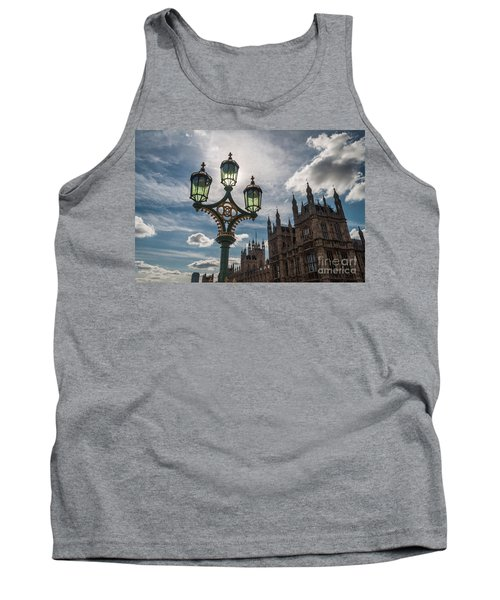 Tank Top featuring the photograph Westminster by Matt Malloy
