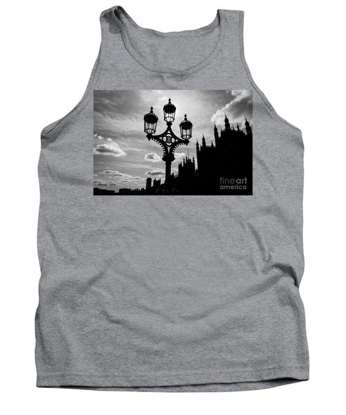 Tank Top featuring the photograph Westminster Silhouette by Matt Malloy
