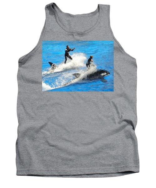 Whale Racing Tank Top
