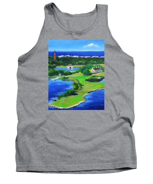 Whalehead Overview Tank Top by Anne Marie Brown
