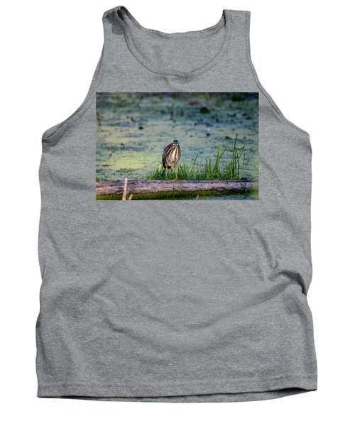 Tank Top featuring the photograph Whatcou Lookin' At? by David Porteus