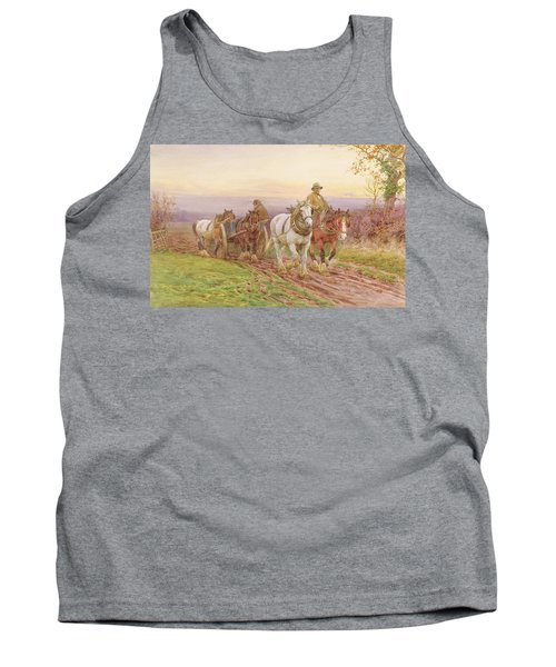 When The Days Work Is Done Tank Top