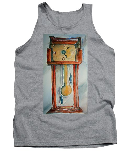 Whimsical Time Piece Tank Top