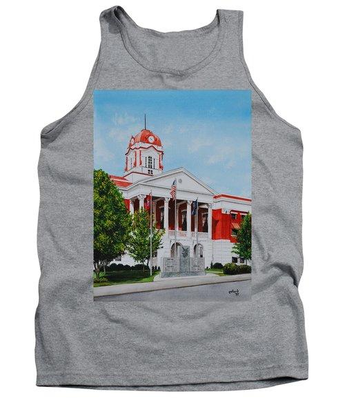 White County Courthouse - Veteran's Memorial Tank Top