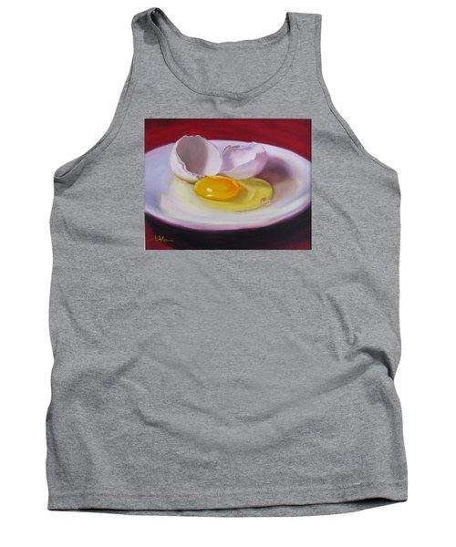 White Egg Study Tank Top