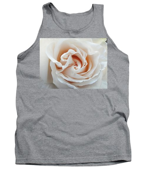 Tank Top featuring the photograph White Rose by Tiffany Erdman