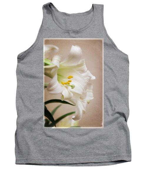 White Softness Tank Top
