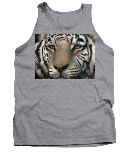 White Tiger - Up Close And Personal Tank Top