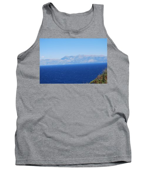 Tank Top featuring the photograph White Trail by George Katechis
