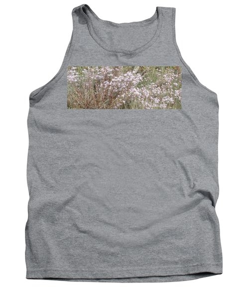 Tank Top featuring the photograph White Wild Flowers by Fortunate Findings Shirley Dickerson