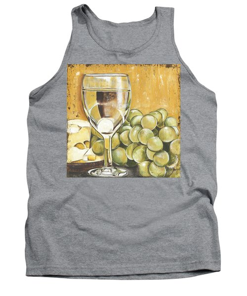 White Wine And Cheese Tank Top