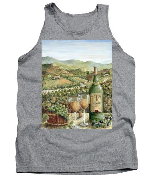 White Wine Lovers Tank Top