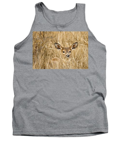 Whitetail In Weeds Tank Top