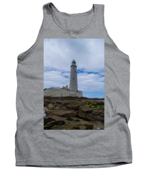Whitley Bay St Mary's Lighthouse Tank Top
