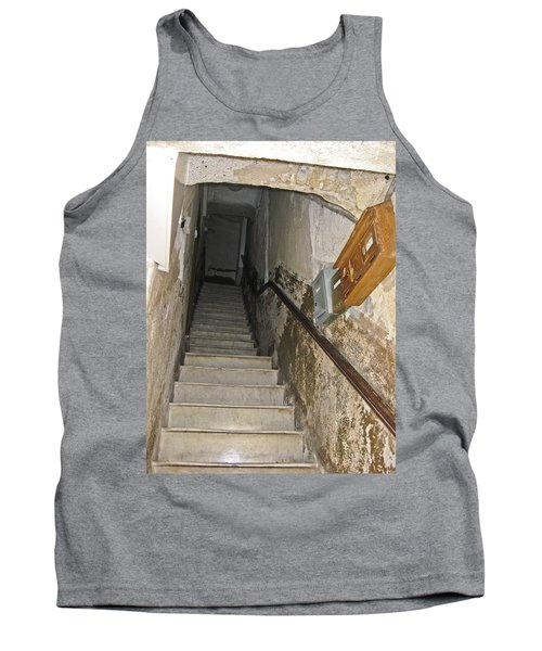 Tank Top featuring the photograph Who Lives Here? by Allen Sheffield