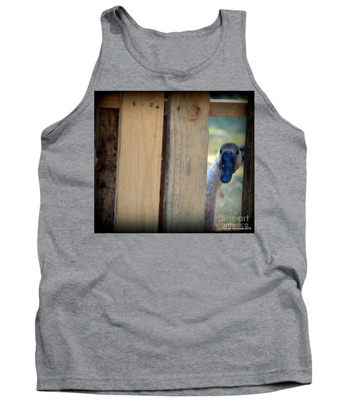 Whose Out There Tank Top