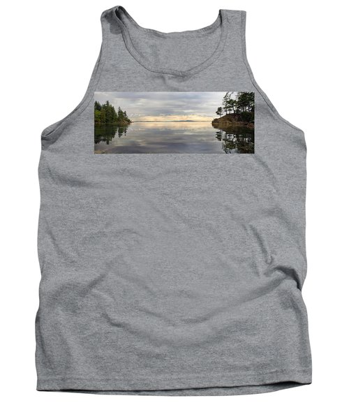 Tank Top featuring the photograph Wildcat Cove Along Chuckanut Drive In Washington by JPLDesigns