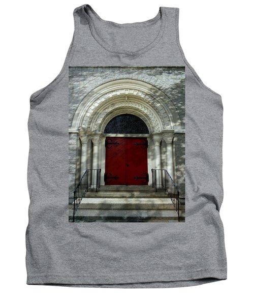 Tank Top featuring the photograph Winchester Church by Joseph Skompski
