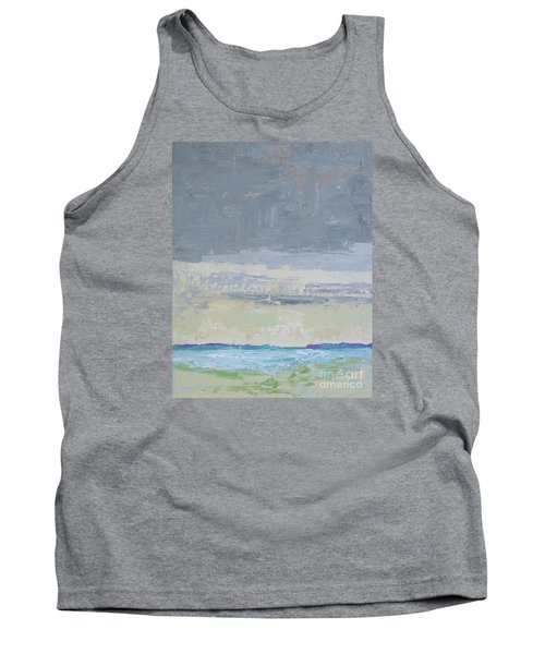 Wind And Rain On The Bay Tank Top