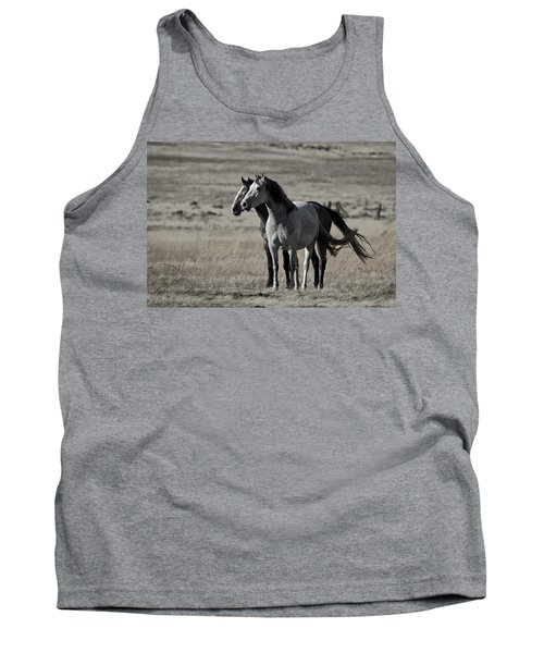 Tank Top featuring the photograph Windblown D3560 by Wes and Dotty Weber