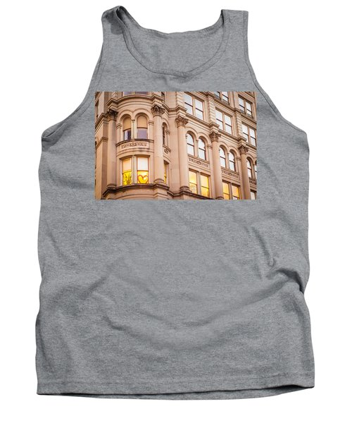 Window To My Heart Tank Top by Melinda Ledsome