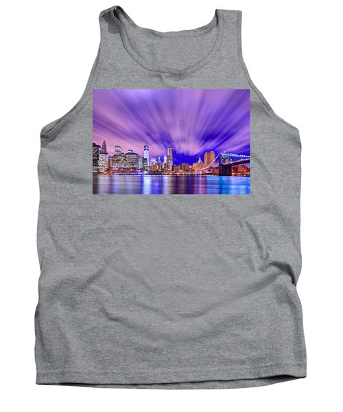 Winds Of Lights Tank Top