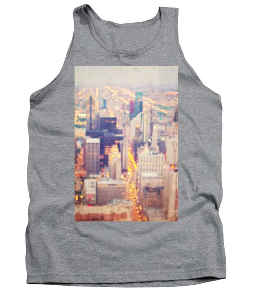 Windy City Lights - Chicago Tank Top