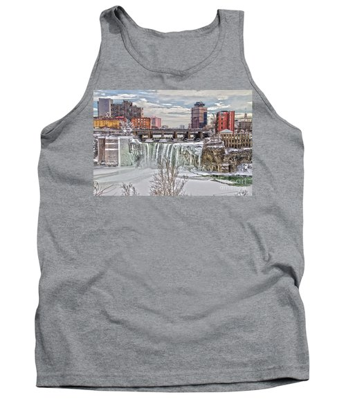 Winter At High Falls Tank Top