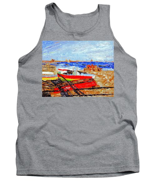Winter At Provincetown Tank Top