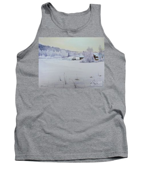 Winter Blanket Tank Top