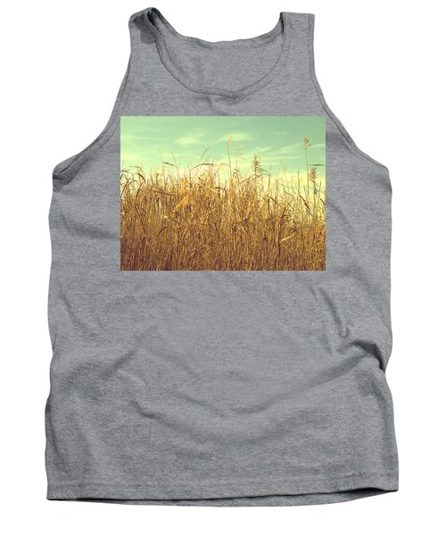 Winter Grass Tank Top