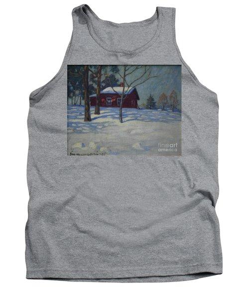 Winter House Tank Top
