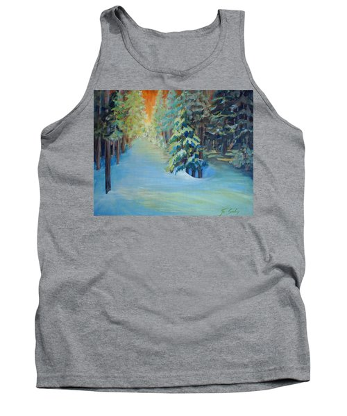 A Road Less Travelled Tank Top
