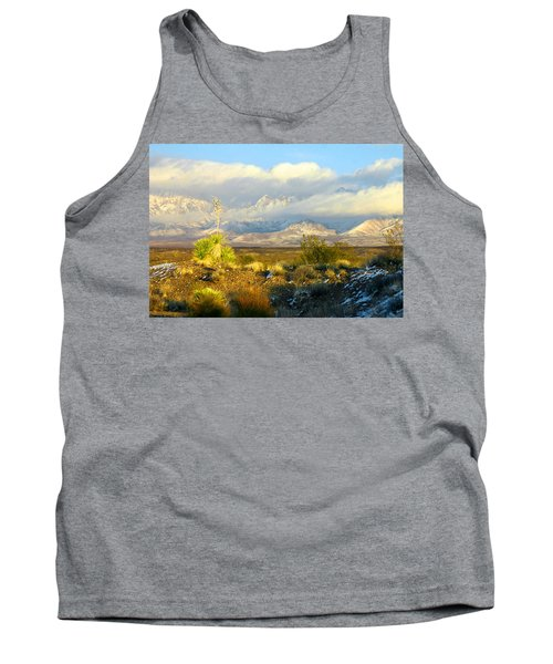 Winter In The Organ Mountains Tank Top