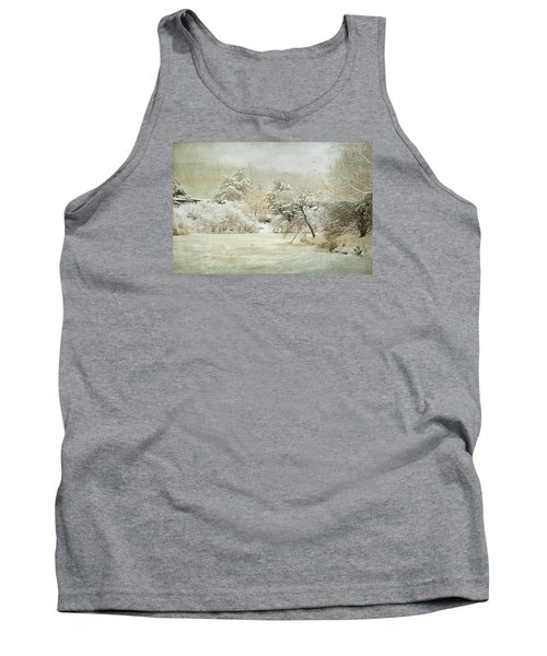 Winter Silence Tank Top by Julie Palencia