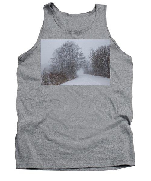 Winter Snowstorm Magic Tank Top