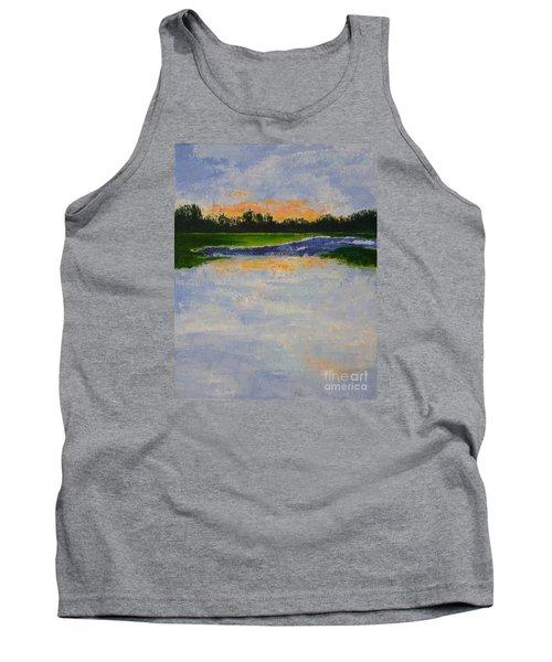 Winter Solstice Sunrise Tank Top